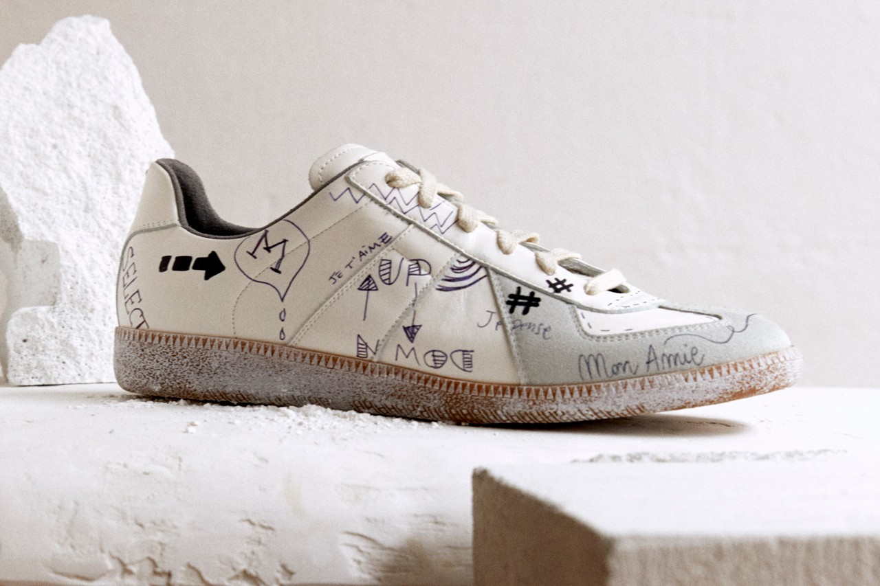 Maison Margiela Graffiti Sneakers