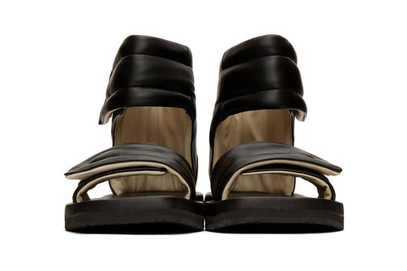 Maison Margiela Black & White Future Sandals Release Info Drop date price 201168M234206 SSENSE 201168M234207
