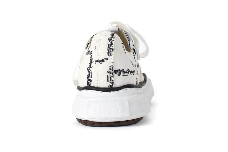 Maison Mihara Yasuhiro OG Sole Sneakers MY Foot Products fictional store cups ceramic mugs socks accessories menswear streetwear footwear shoes kicks runners trainers shoes