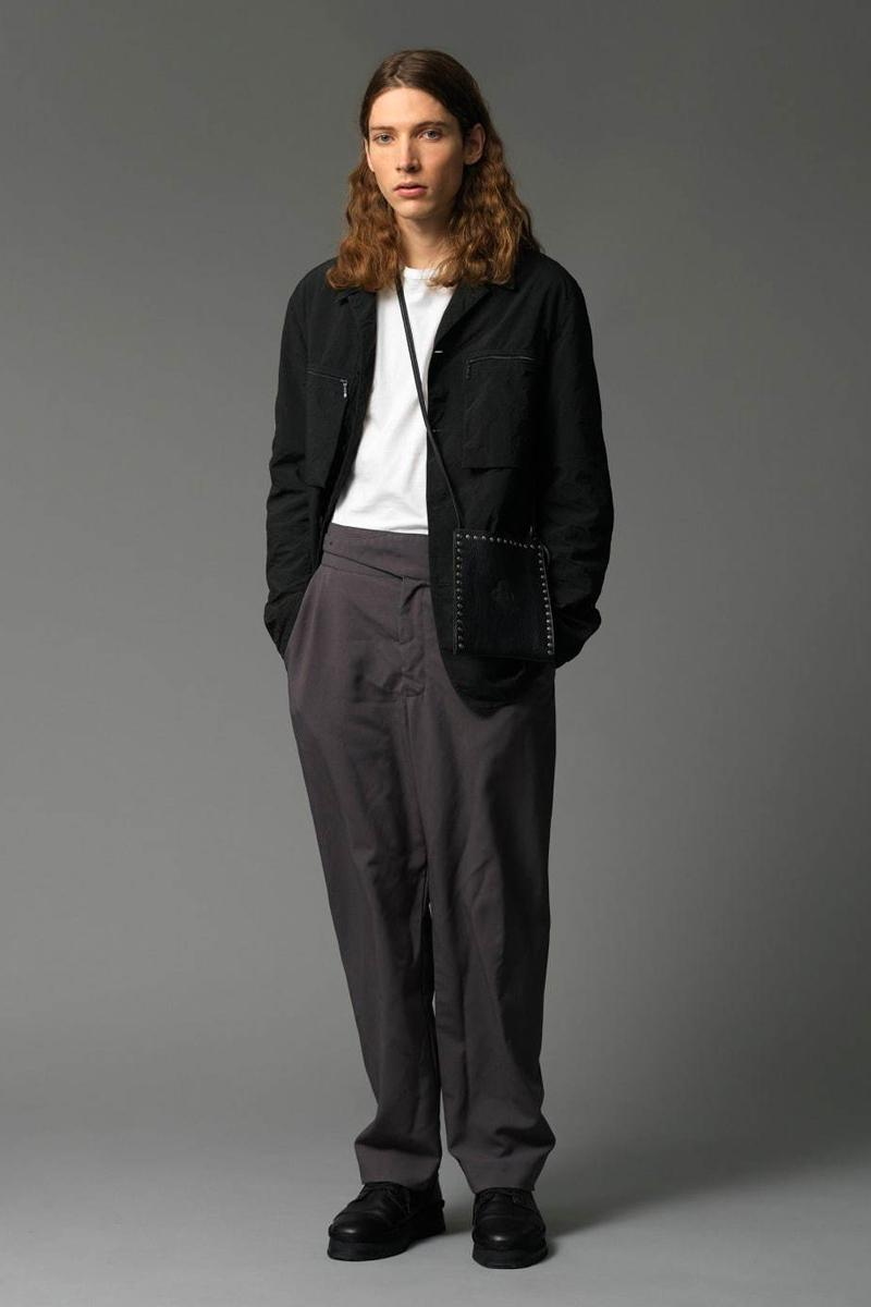 Mando Fall/Winter 2020 Collection Lookbook japanese fashion business casual street sweat cardigan outerwear blazer mohair vest v-neck