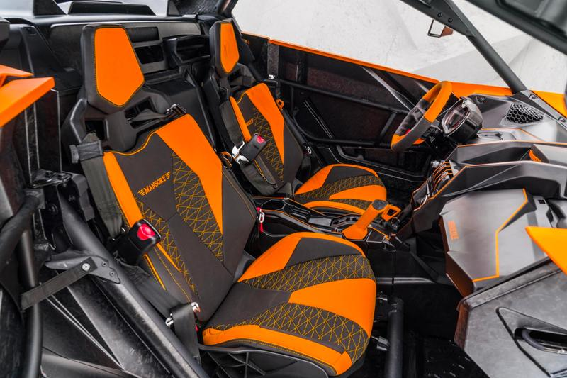 Mansory Xerocole Custom 2020 Can-Am Maverick X3 Tuning Automotive German Engineering Geneva Motor Show Postponed Coronavirus Dakar Rally Rotax Ace 0.9-liter turbocharged three-cylinder