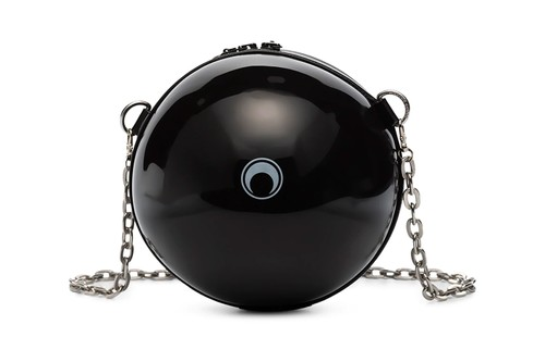 Marine Serre's Black Dream Ball Shoulder Bag Is an Eye-Catching Carrying Option
