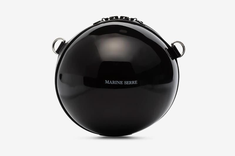 Marine Serre Black Dream Ball Shoulder Bag Release Info Buy Price Browns