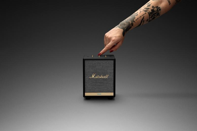 zound industries bluetooth voice assistant speakers marshall uxbridge alexa amazon apple airplay 2 streaming spotify connect