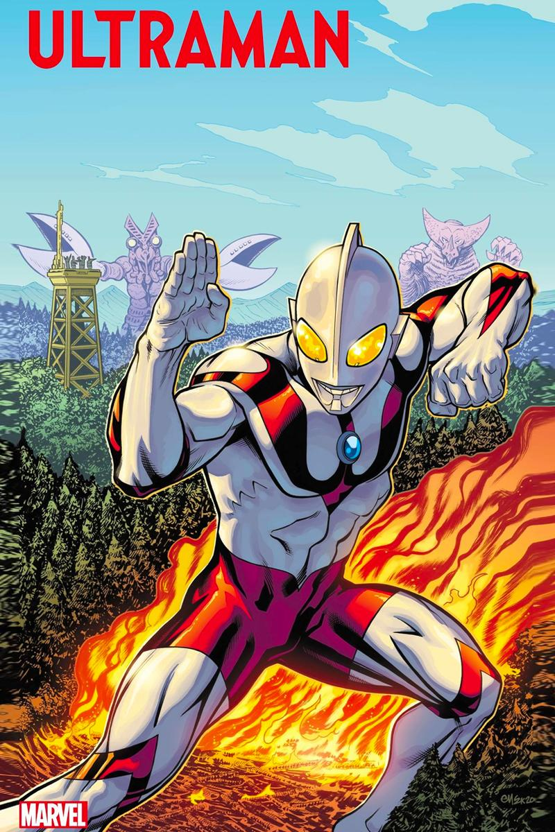 Marvel Ultraman Comic Cover Reveal Info Release Date 2020 Tsuburaya Productions Chicago Comic Entertainment Expo C2E2
