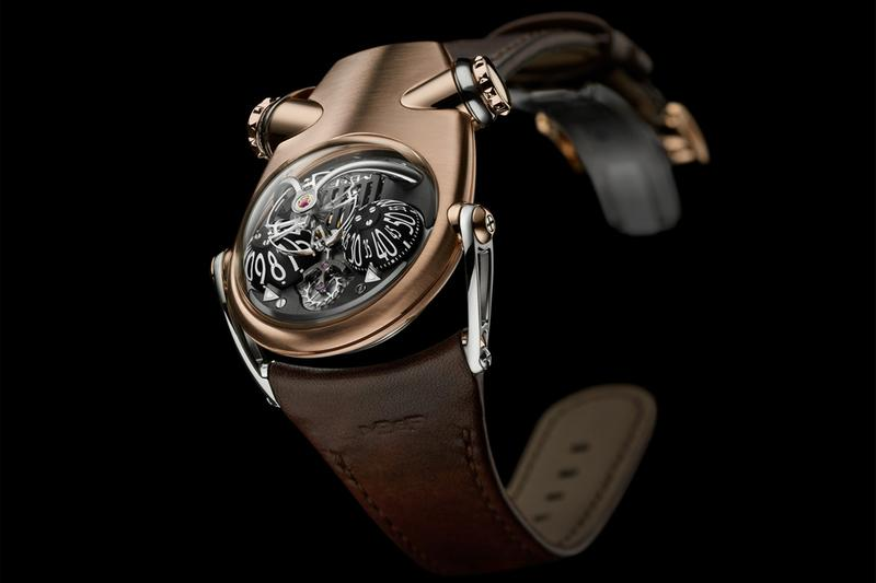 mb f hm10 bulldog watches timepiece accessories avant garde experimental luxury swiss switzerland