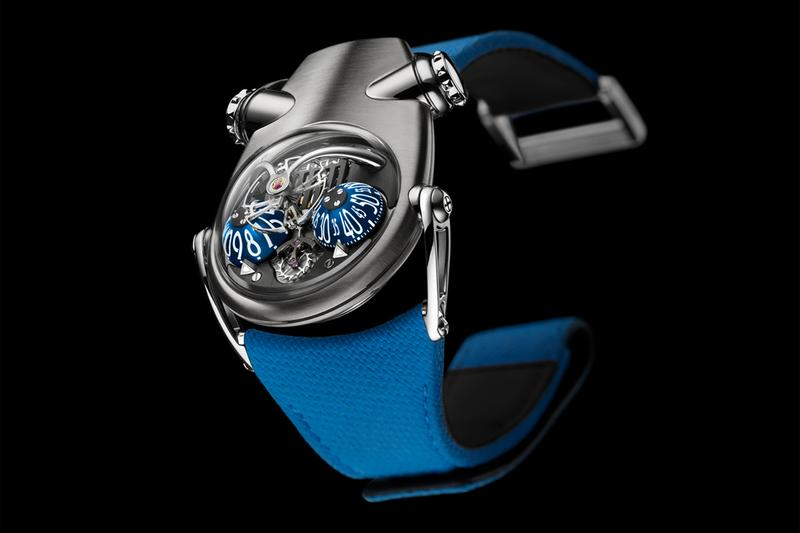mb f hm10 bulldog watches timepiece accessories avant garde experimental luxury swiss switzerland