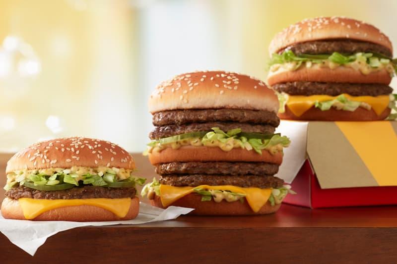 McDonald's New Double Big Mac and Little Mac Burgers Cheeseburgers Grand Mac Mickey D's