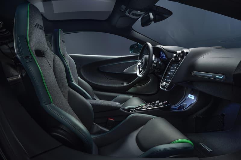 McLaren GT by MSO Features a Head-Turning Paint Job cashmere interior verdant theme custom car LT mclaren special operations