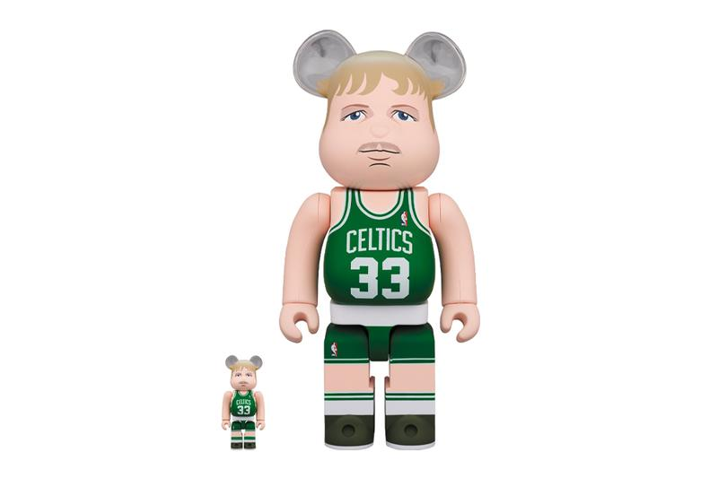 Medicom Toy BEARBRICK Larry Bird Scottie Pippen boston celtics chicago bulls toys figures toymaker japanese design collectibles nba basketball hall of fame 100 400 national basketball association