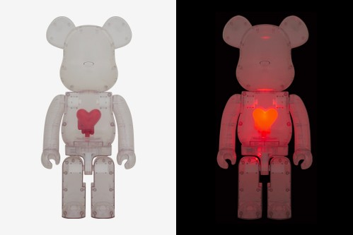 Medicom Toy Taps Emotionally Unavailable for Transparent 1000% BE@RBRICK