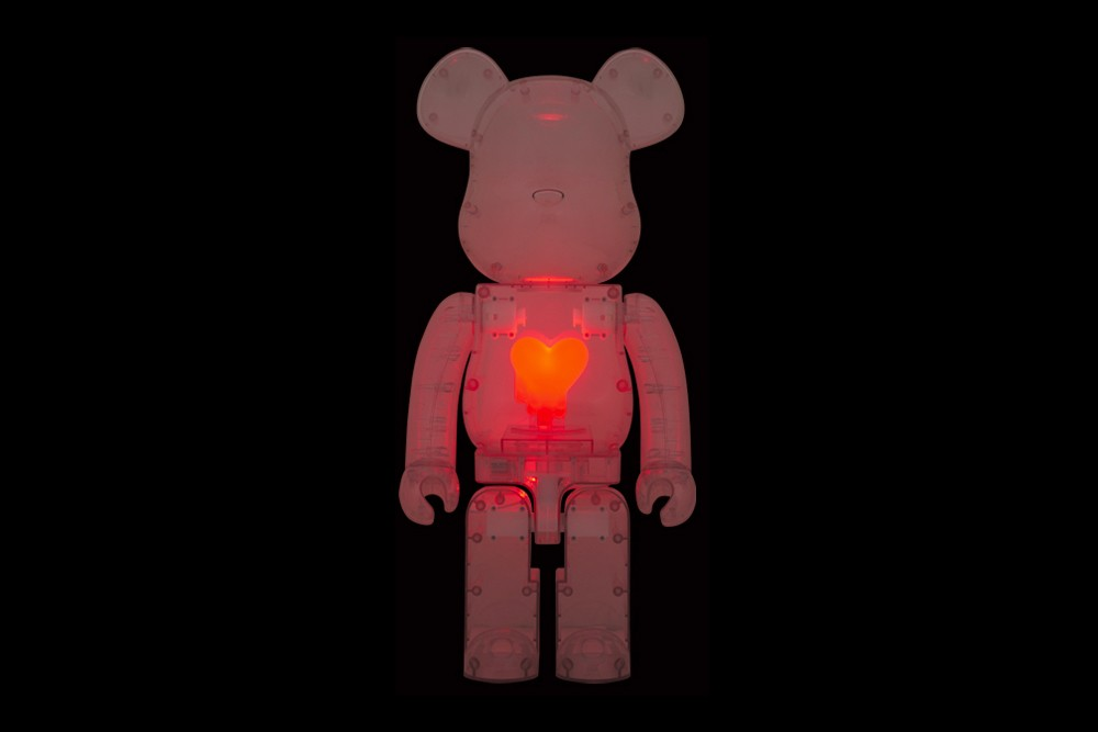 Medicom Toy Emotionally Unavailable 1000 BEARBRICK toys figures toymaker japanese 2g shibuya parco collectibles glow heart raffle electric transparent spring summer 2020