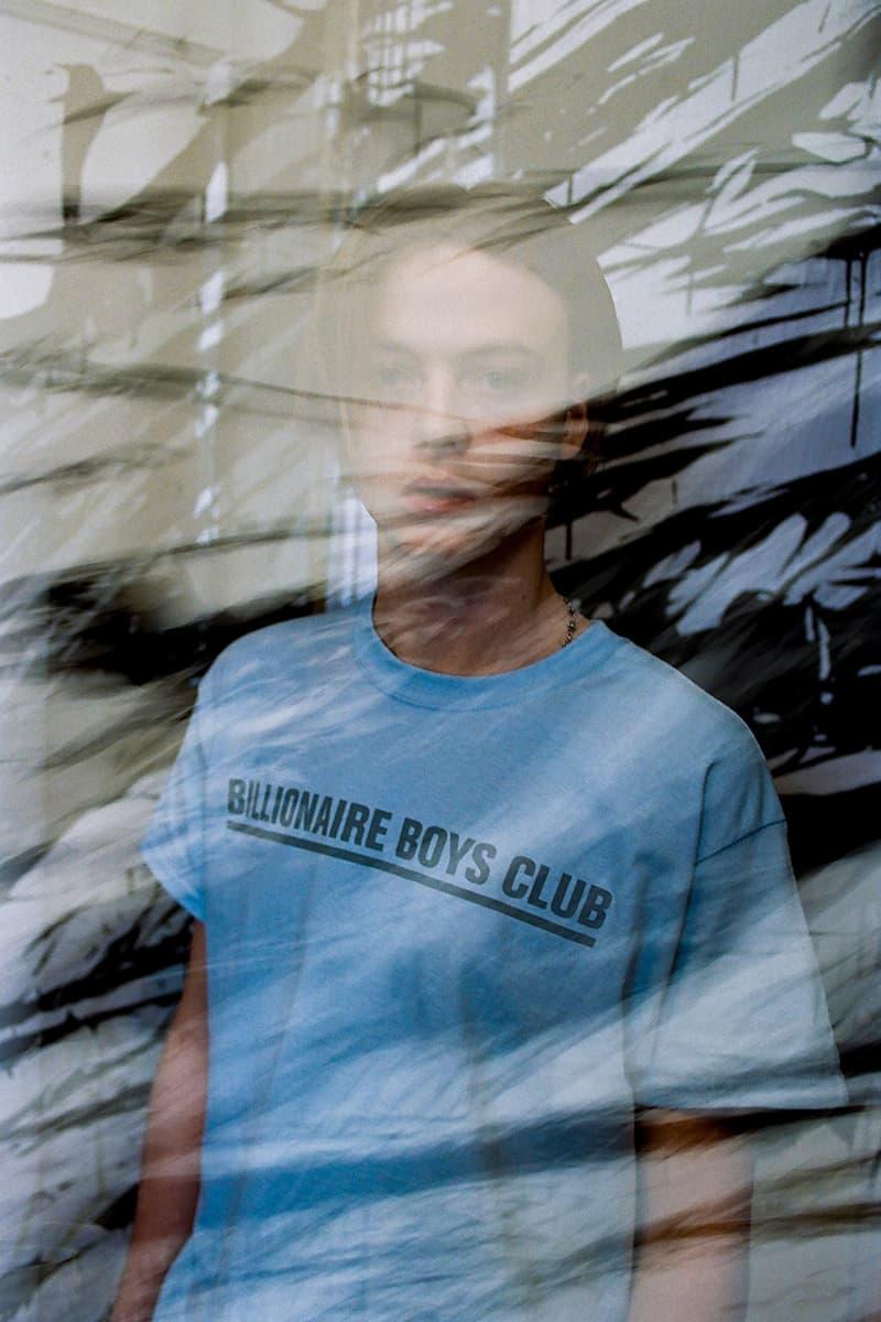 Meguru Yamaguchi x Billionaire Boys Club Collaboration lookbook collection bbc japan release date info