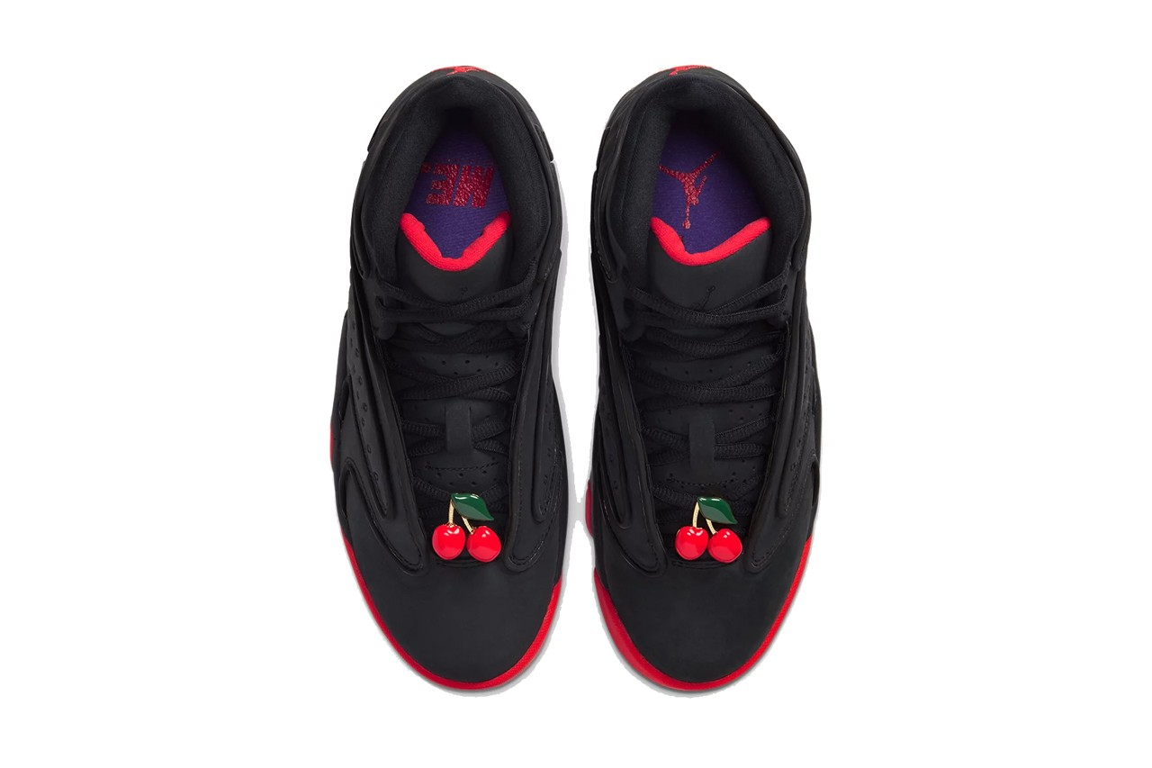 melody ehsani air jordan og Cq2514 005 black infrared hyper grape cherry release date info photos price