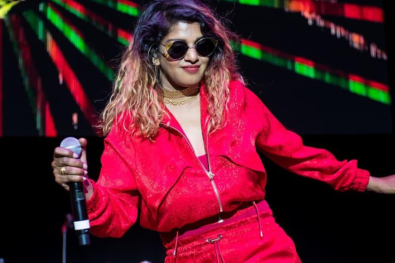 "M.I.A. ""OHMNI 202091"" Single Stream first song three years dancehall reggaeton hip-hop pop alternative indie listen now patreon"