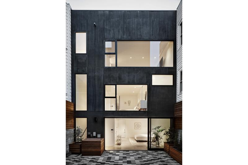 Michael Hennessey Architecture San Francisco Townhouse Residential Building Design Marina District
