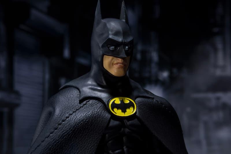 S H Figuarts Micahel Keaton 1989 Batman Figure Hypebeast