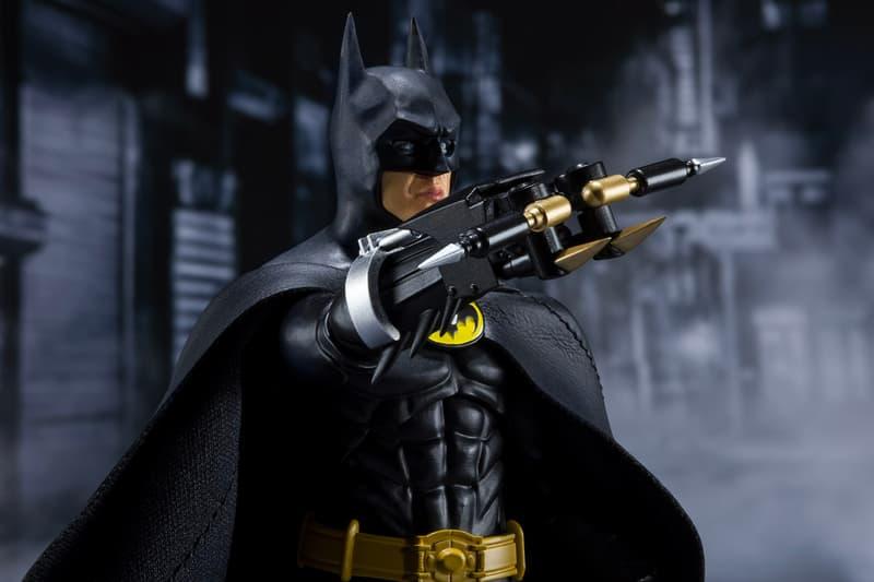 S.H. Figuarts Micahel Keaton 1989 Batman Figure Release Info Buy Price Tim Burton Tamashi Nations