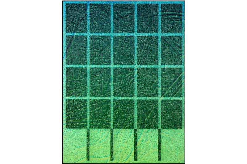 michael staniak natural order solo exhibition unit london debut hdf paintings 2020 casting compound digital UV pigment and acrylic on engineered wood panel steel frame