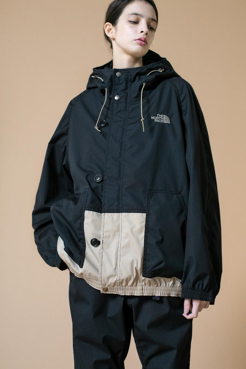 monkey time THE NORTH FACE PURPLE LABEL Capsule SS20