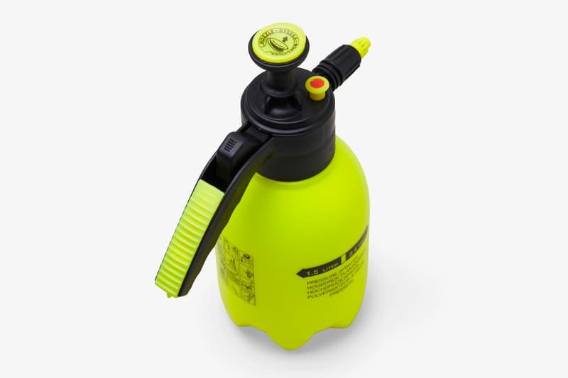 NEIGHBORHOOD Specimen Research Laboratory Plant Pressure Sprayer sub label accessories botanical logo shinsuke takizawa spring summer 2020 collection srl fluorescent neon