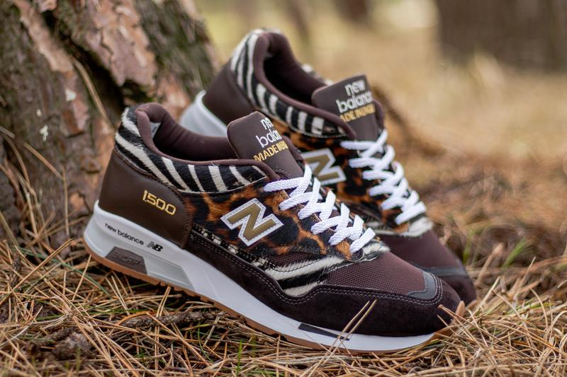 new balance 1500 animal pack brown cheetah zebra M1500CZK release date info photos price
