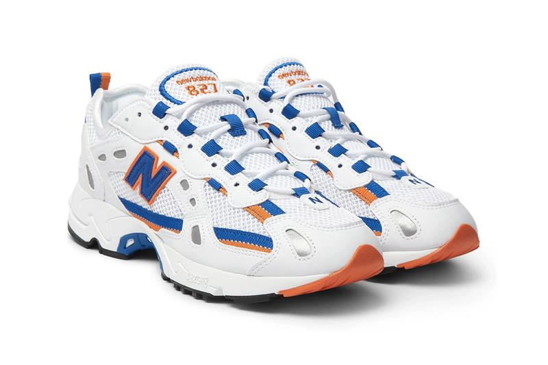 new balance 827 mr porter white royal blue orange black red release information buy cop purchase details ML827AAA