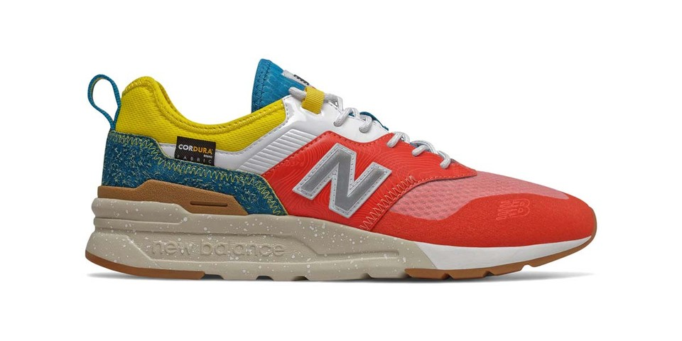 """New Balance Releases 997H Spring Hike Trail in Vivid """"Neo Flame"""" Colorway"""