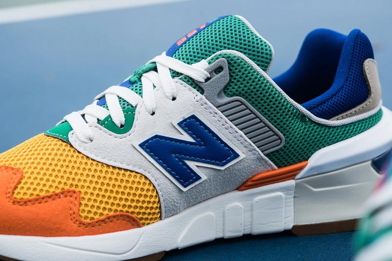 new balance 997s multicolor MS997JHX grey orange yellow green blue white