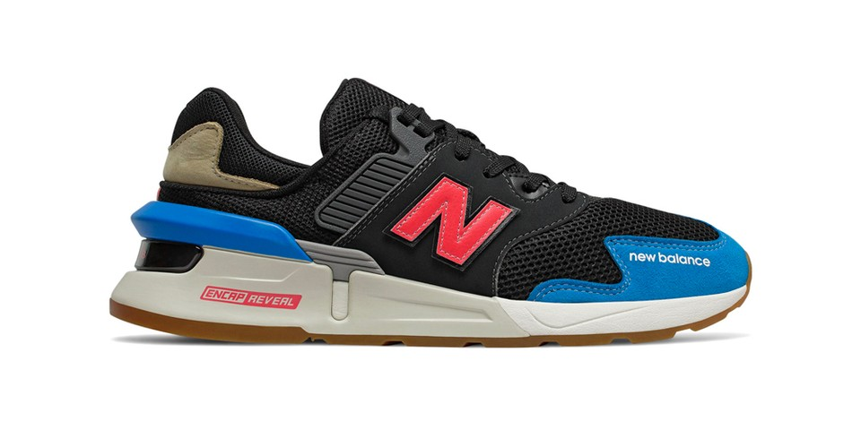 """New Balance Updates 997S With Understated """"Black/Neo Classic Blue"""" Colorway"""