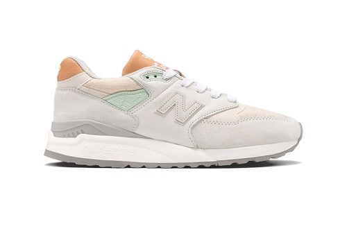New Balance Adds Mint Green to 998 Made In US