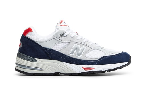 New Balance Refreshes the Made in UK 991 in Grey/Navy/Red