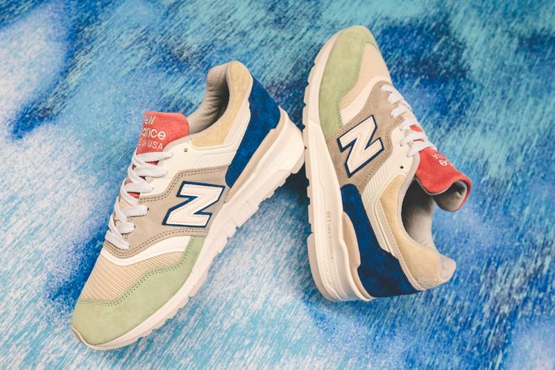 New Balance M997SOA Made in USA Seasonal Colors footwear sneakers shoes menswear streetwear kicks trainers runners spring summer 2020 collection suede leather pigskin