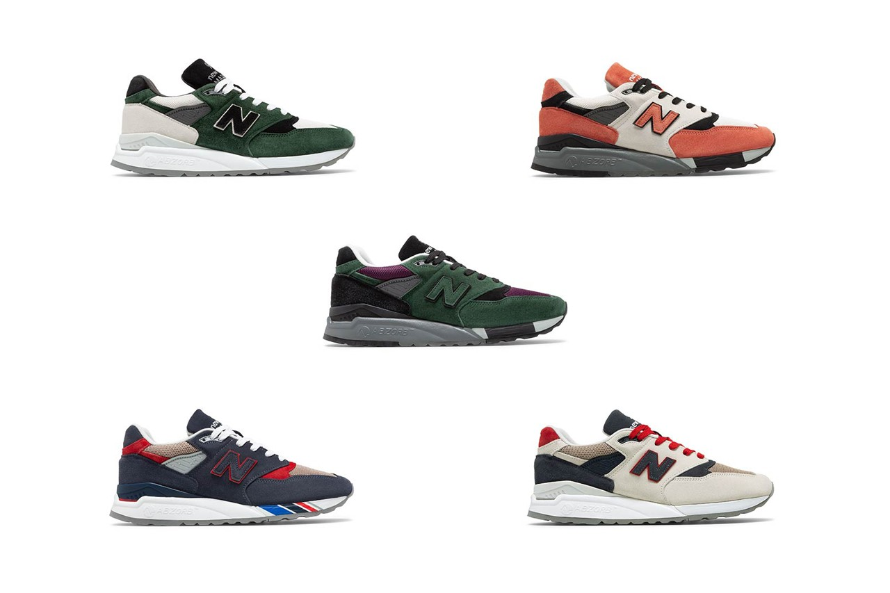 new balance made in us 998 surplus random materials 100 pairs release date info photos price