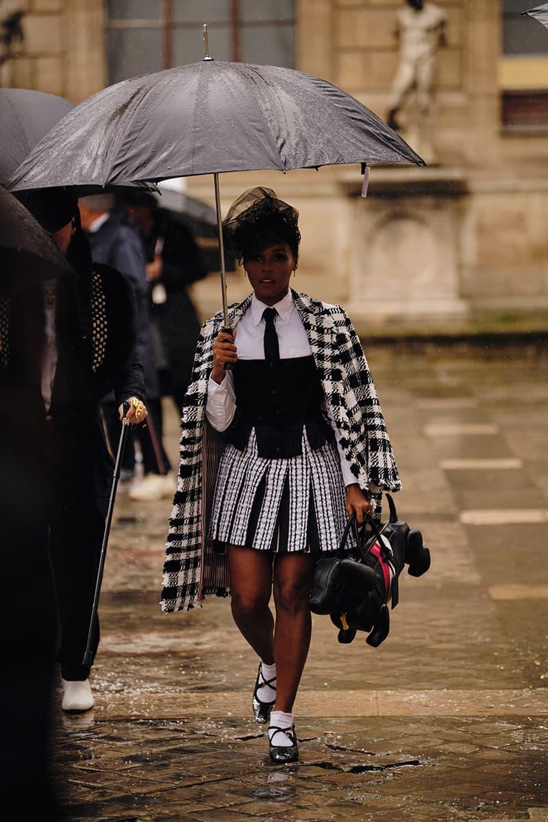 Paris Fashion Week Fall/Winter 2020 Streetstyle Womenswear Looks HYPEBAE Spotted Bella Hadid Kaia Gerber Michéle Lamy Dior Maison Margiela Louis Vuitton Jordans LOEWE Rick Owens Alexa Chung