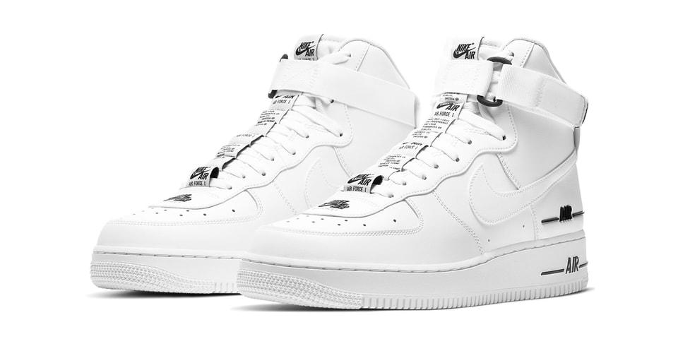 Nike Air Force 1 High '07 LV8 3 Amplifies Its Branding