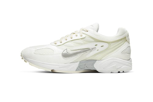 "Nike's Air Ghost Racer Lands in Clean ""White/Pure Platinum"" Colorway"
