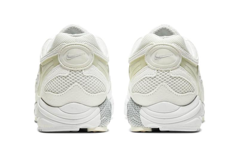 Nike Air Ghost Racer White sail Pure Platinum AT5410 102 menswear streetwear footwear shoes sneakers runner trainers kicks swoosh check spring summer 2020 collection ecru