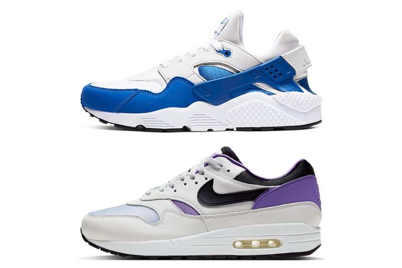 nike air max 1 purple punch huarache sport blue dna series ch 1 pack ar3863 ar 3864 101 tinker hatfield release date info photos price