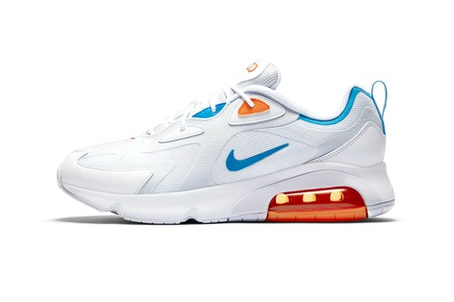 "Nike Gives Air Max 200 Crisp ""Football Gray/Laser Blue"" Update"
