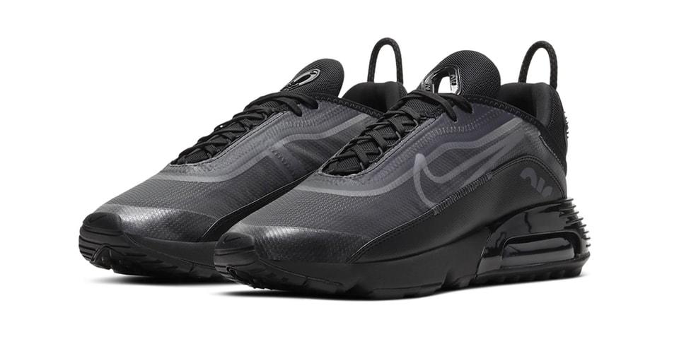 "Nike Gives Air Max 2090 a Sleek ""Triple Black"" Colorway"