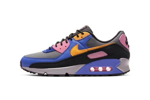 """Nike Air Max 90 """"Persian Violet"""" & """"Pollen Rise"""" Offer ACG-Style Flair"""
