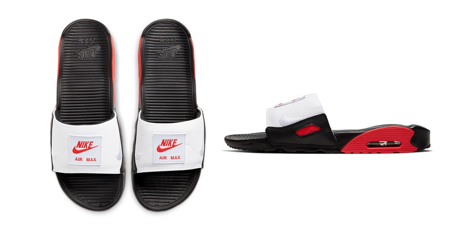 Nike Air Max 90 Slide Chili Red Release Info Hypebeast