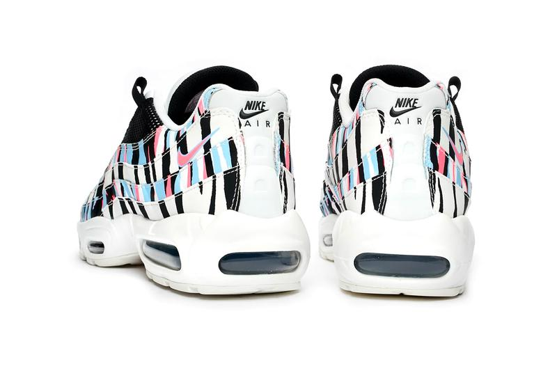Nike Air Max 95 CTRY Korea 25th Anniversary CW2359 100 White Black Royal Tint Racer Pink color scheme