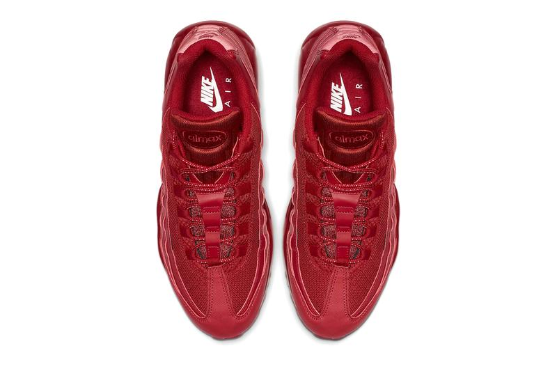 CQ9969-600 nike air max 95 varsity red sneakers shoes release