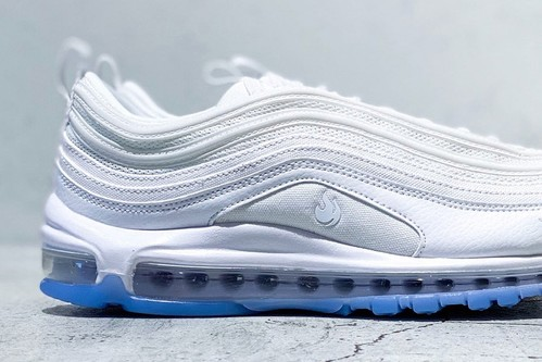White-Hot Nike Air Max 97 Releases With Flame Graphic on Lateral Side
