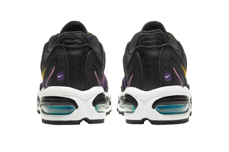 "Nike Air Max Tailwind IV ""Black/Pollen Rise/Voltage Purple/White"" Release date info price details  U9240001 where to cop eastbay acg hike man tag hangtag"