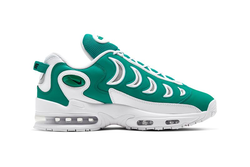 nike sportswear air metal max neptune green white vast grey black CJ2618 300 release date info photos price