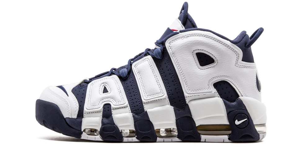 """Nike Air More Uptempo """"Olympic"""" Returns"""