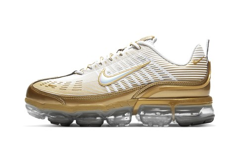 Nike Drops Gold-Clad Air VaporMax 360